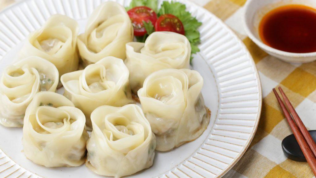 【Tasty Japan おすすめレシピ】くるっと巻くだけ♪ 簡単ブーケ餃子のアイキャッチ